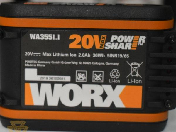 Máy mài góc Worx Orange WX802
