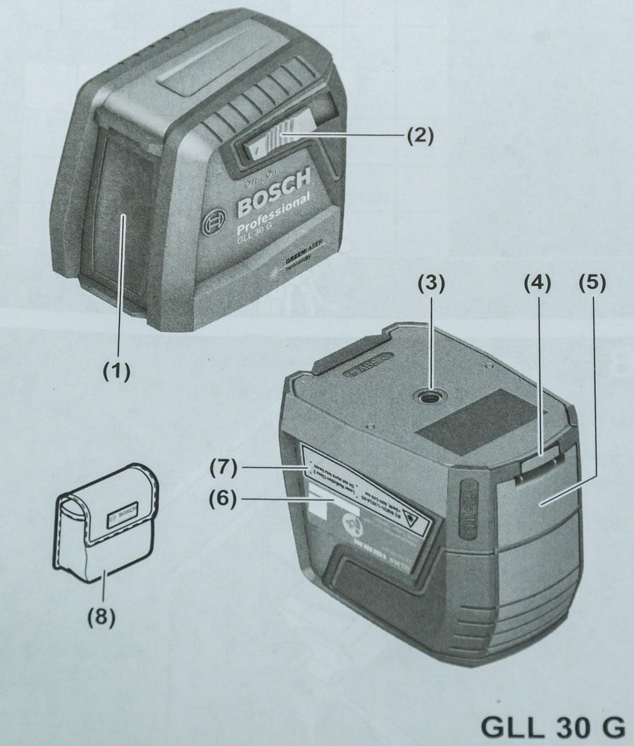 Máy cân mực laser Bosch GLL 30 G