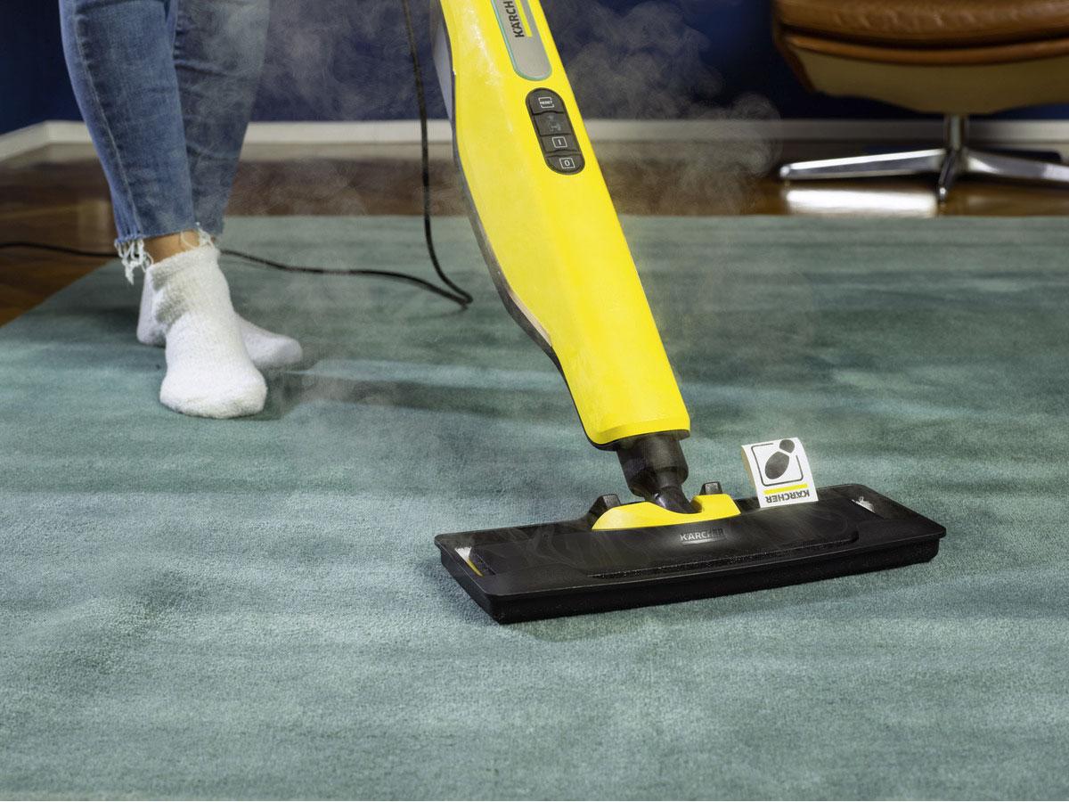 Máy lau nhà có thể lau trên thảm