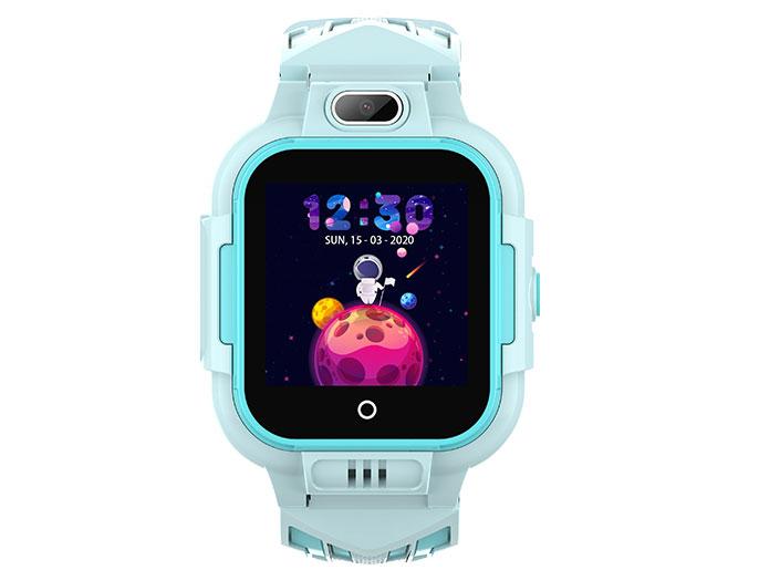 Đồng hồ định vị Wonlex KT16 màu xanh