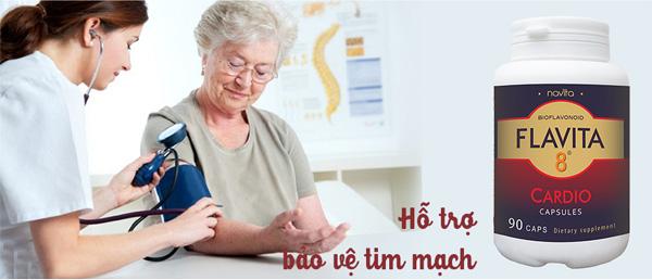 Dùng cho người có các vấn đề về tim mạch