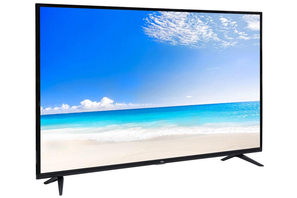 Tivi TCL 4K L50P65-UF có kích thước màn hình 50 inch