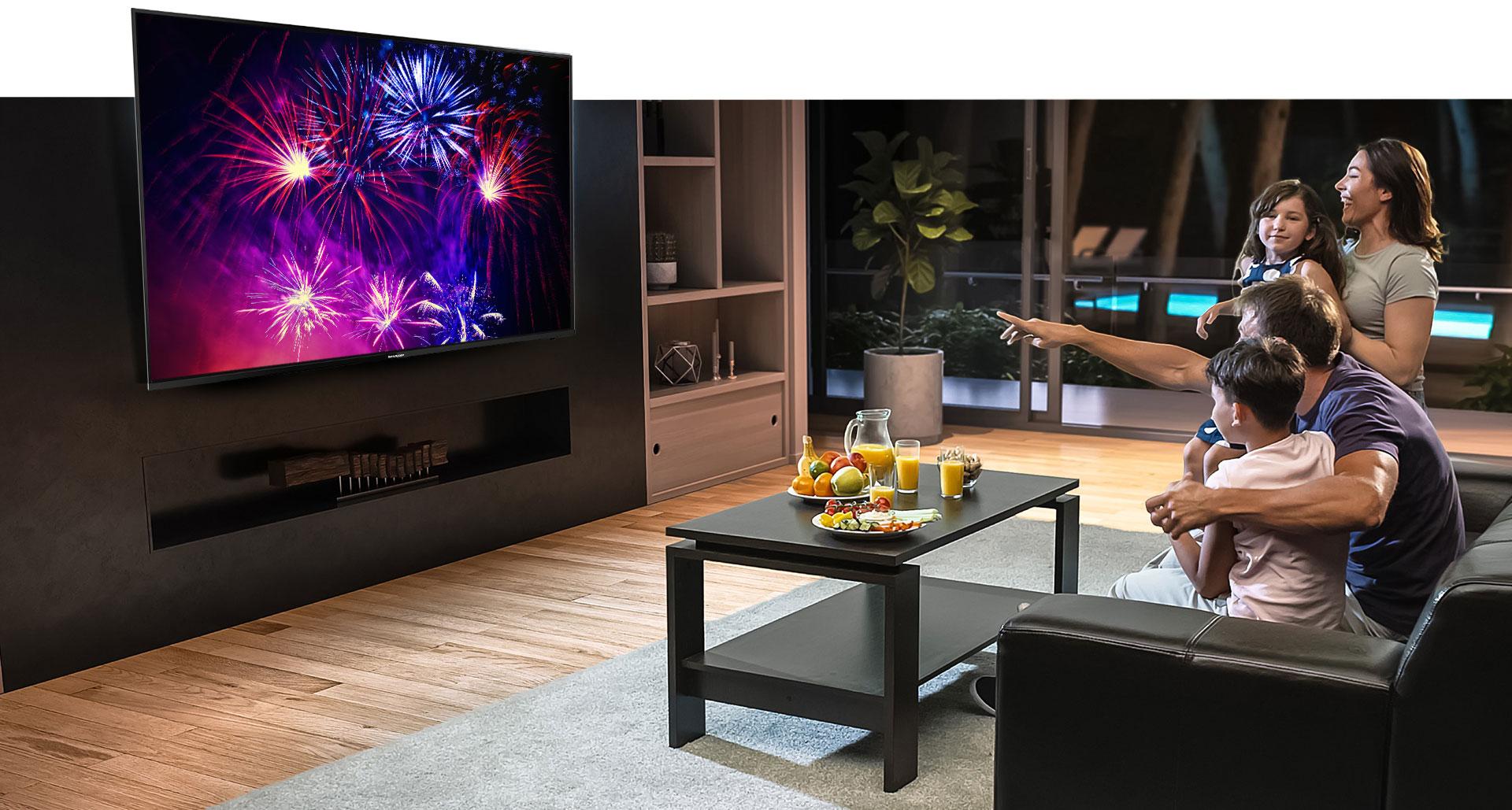 TV LED Sharp 4K ULTRA HD C50BK1X