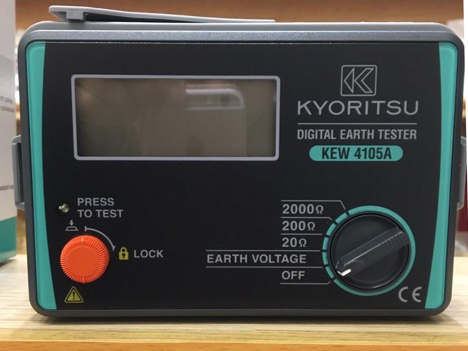 Hình ảnh máy đo điện trở đất Kyoritsu 4105A