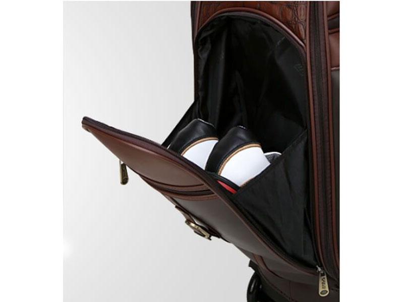 Túi golf có chất liệu da PU cao cấp có khả năng chống thấm nước tốt