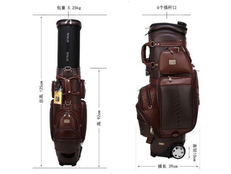 Kích thước túi đựng golf