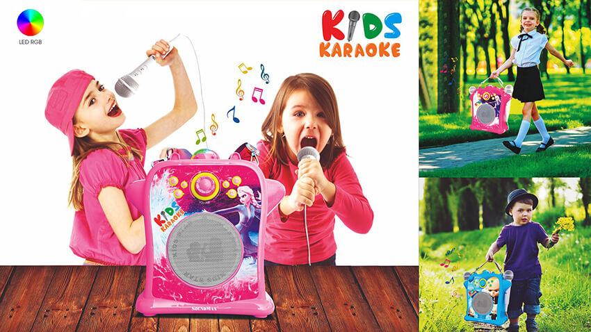 Loa karaoke dành cho trẻ em