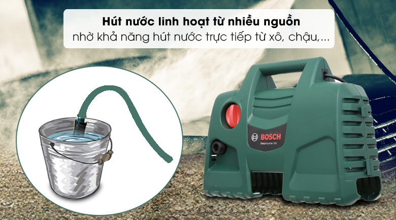 Máy phun xịt rửa áp lực cao Bosch