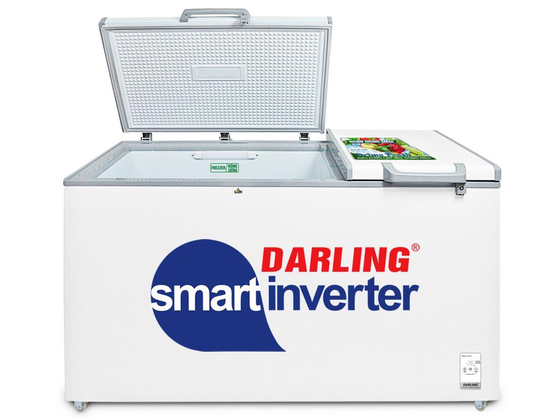 Tủ đông Darling DMF-7699WSI-4 sở hữu công nghệ inverter tiết kiệm điện năng