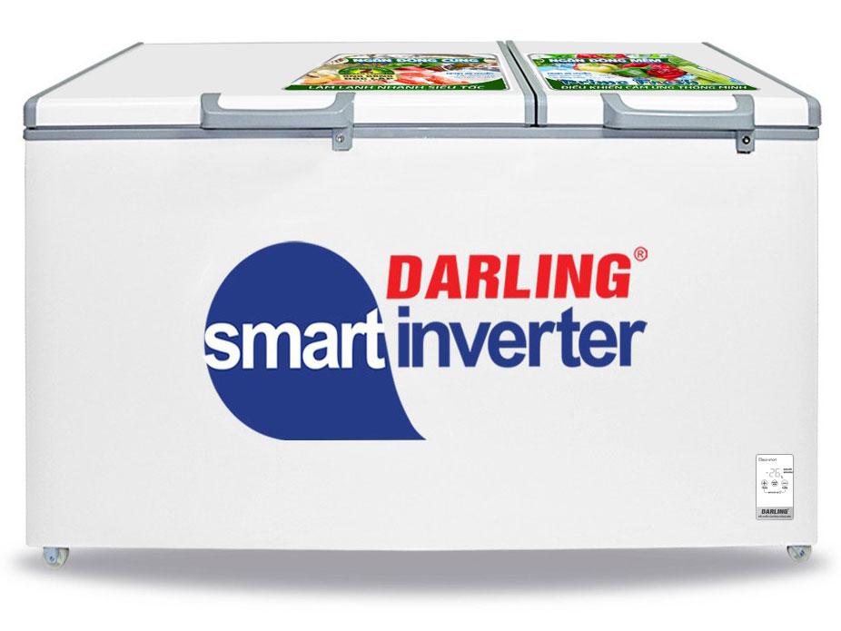 Hình ảnh tủ đông Darling Inverter 2 ngăn