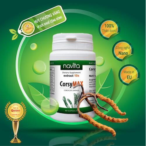 Đông trùng hạ thảo tây tạng CorsyMAX 10x