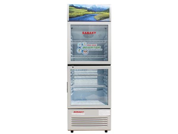 Hình ảnh tủ mát Inverter Sanaky VH-218W3L 210 lít