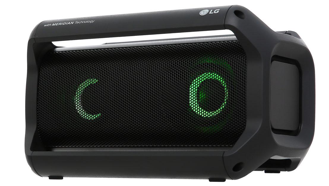Loa bluetooth LG PK5 có thiết kế độc đáo, bắt mắt