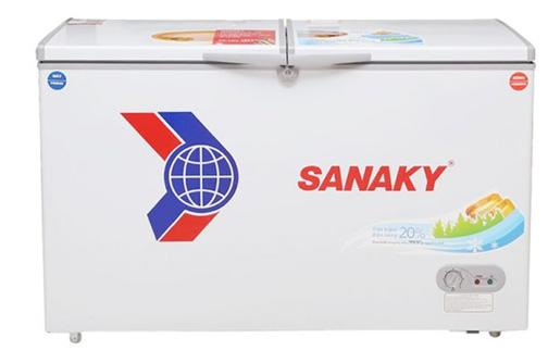 Hình ảnh tủ đông hai ngăn 2 cánh Sanaky