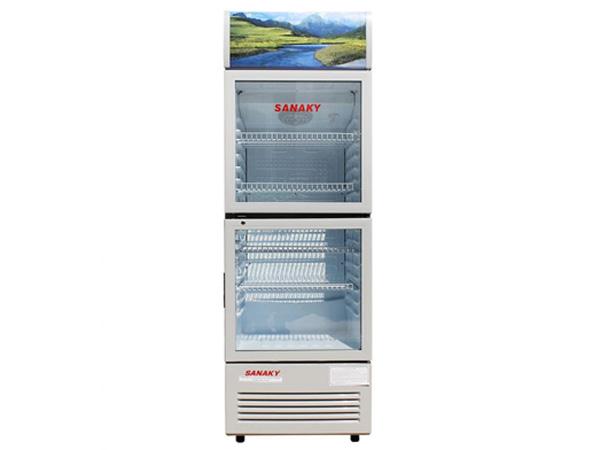 Thiết kế của tủ mát Sanaky VH-308WL