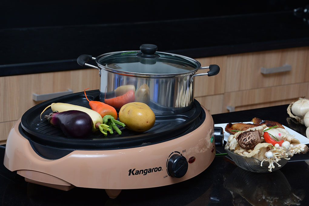 Bếp lẩu nướng đa năng Kangaroo KG95N