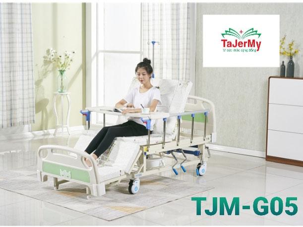 Giường bệnh nhân đa chức năng Tajermy TJM-G05 giúp người bệnh thoải mái hơn