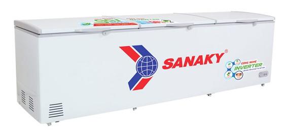 Hình ảnh  tủ đông Inveter 1 ngăn 3 cánh mở Sanaky VH 1399HY