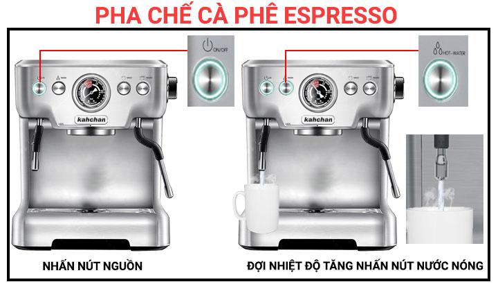 Máy pha cà phê Kahchan