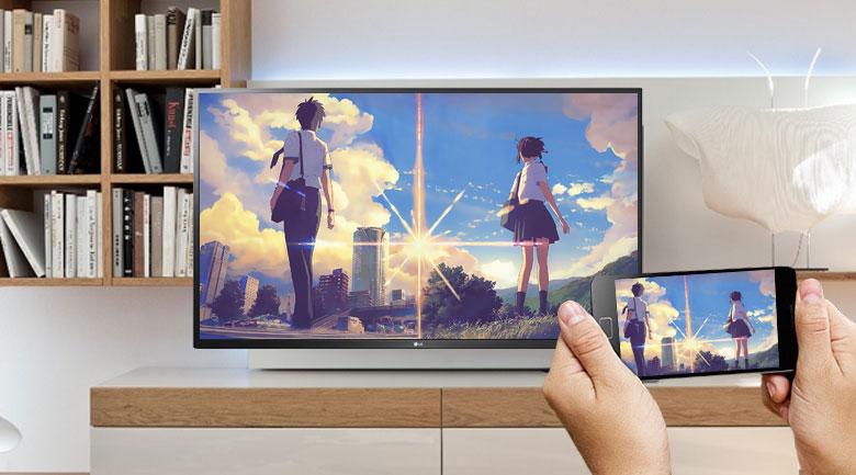 Chiều màn hình lên tivi dễ dàng
