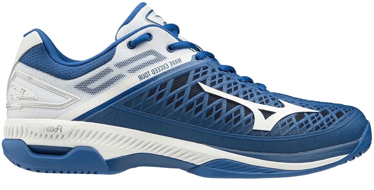 Hình ảnh giày tennis Mizuno Wave Exceed Tour 4 AC siêu bền, nhẹ