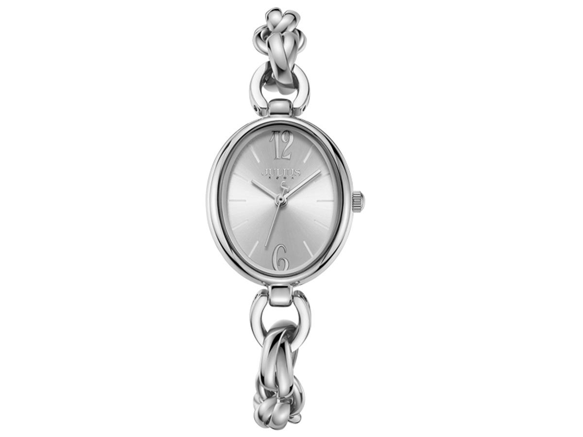 Đồng hồ nữ Julius Hàn Quốc dây thép JA-1258
