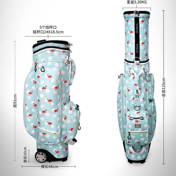 Kích thước túi đựng gậy golf PGM QB053