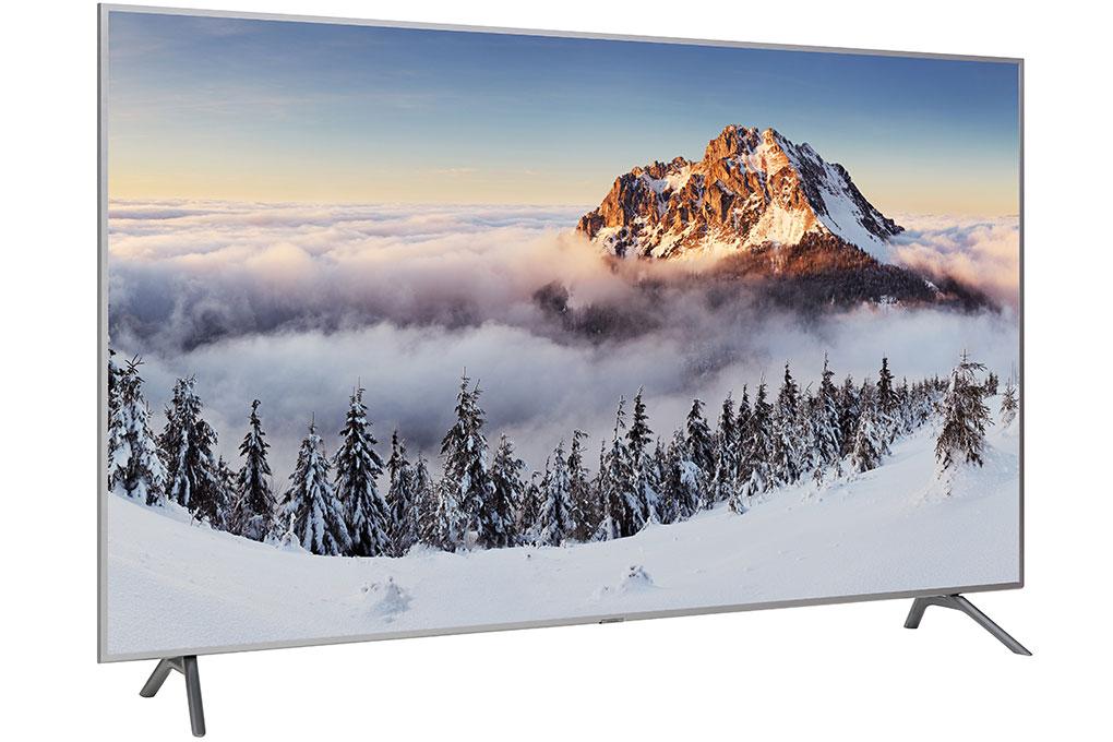 Smart tivi QLED Samsung có kích thước màn hình 82 inch