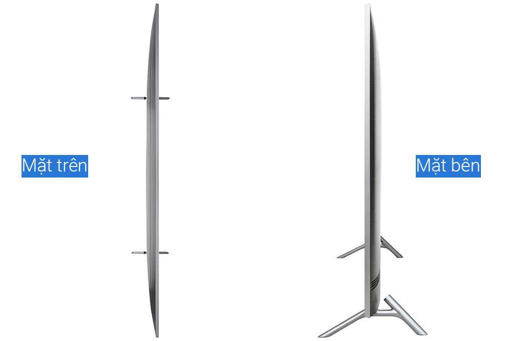 Các mặt bên của tivi QLED Samsung QA82Q65RAKXXV