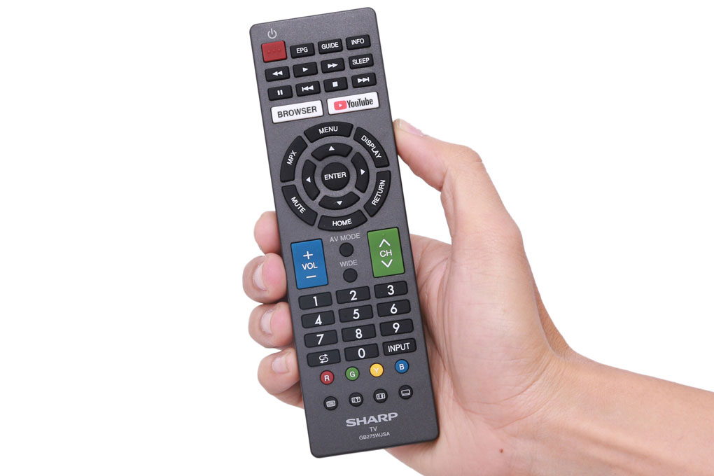 Smart remote đi kèm TV