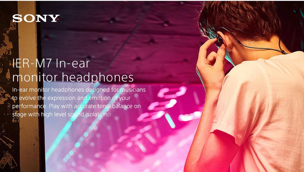 Tai nghe kiểm âm In-Ear IER-M7 cho chất lượng âm thanh hoàn hảo