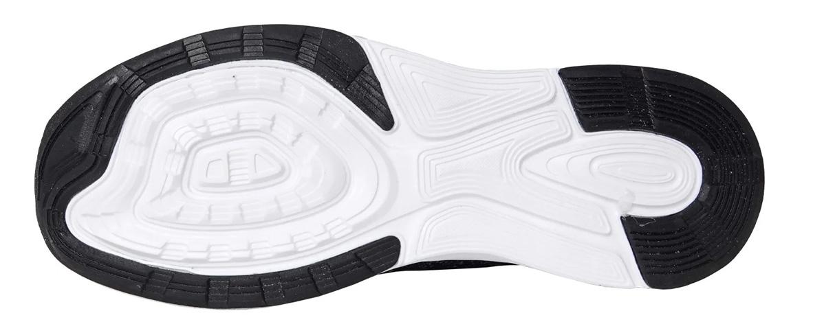 Đế giày thiết kế êm ái mang lại sự an toàn khi sử dụng