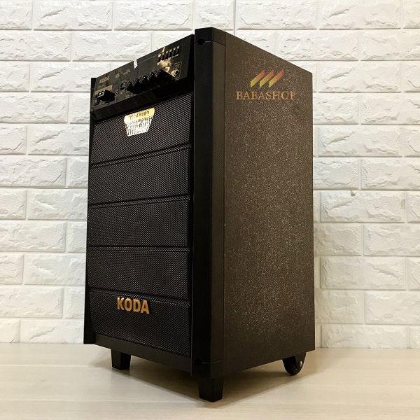 Loa kéo di động Koda KD-1208 thiết kế chắc chắn