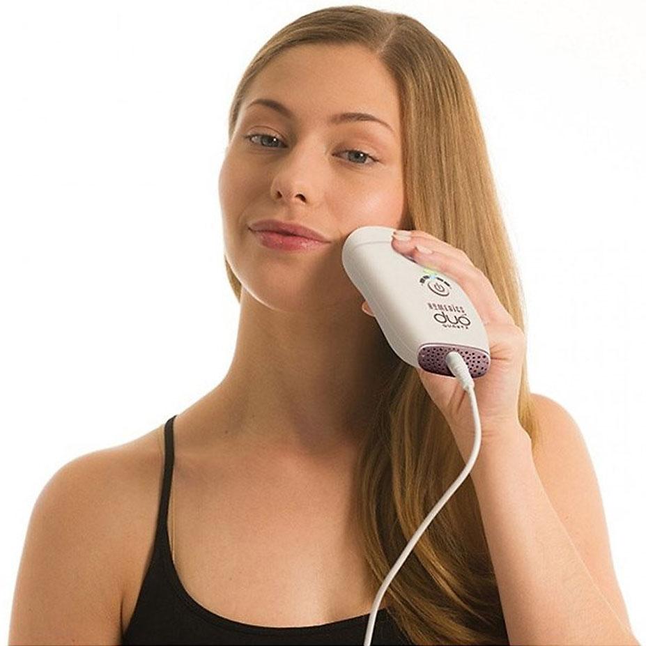 Máy triệt lông HoMedics IPL-HH180 phù hợp cho mọi vùng da