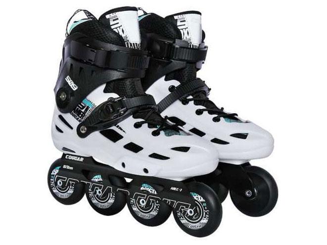 Giày patin Cougar MZS 509C trắng