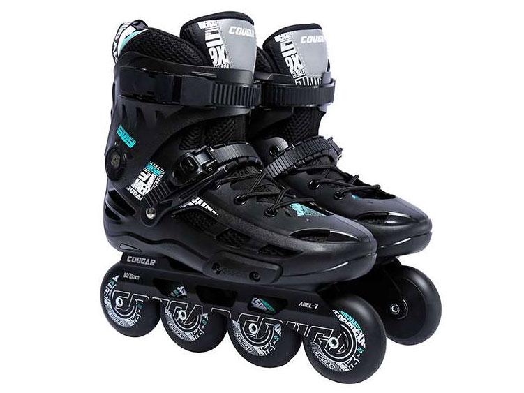 Giày patin Cougar MZS 509C đen