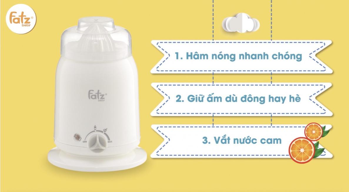 Máy hâm sữa nhiều tính năng