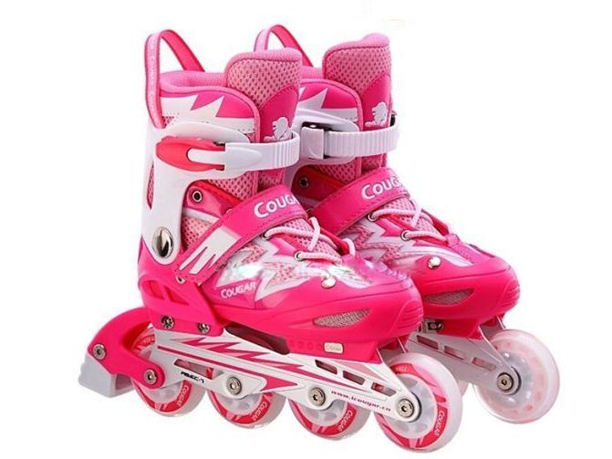 Giày màu hồng