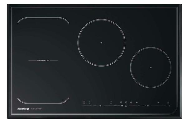 Hình ảnh bếp từ không giới hạn vùng nấu Rosieres RFI802 (80cm)