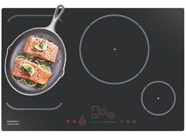 Mặt bếp được làm bằng chất liệu kính cao cấp