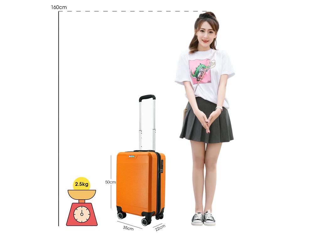 Kích thước của vali P808 size 20 inch
