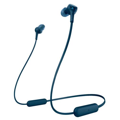 Tai nghe không dây Sony WI-XB400 màu xanh