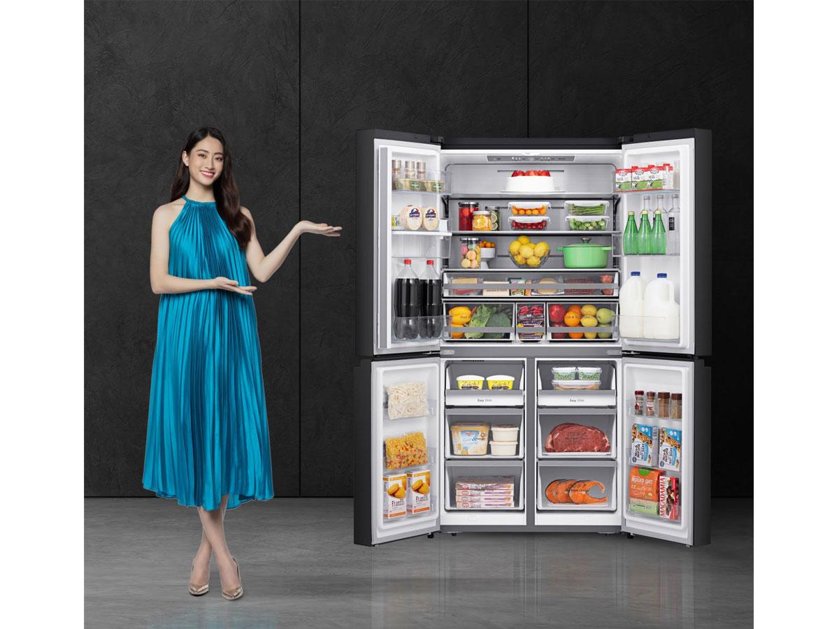 Tủ lạnh Casper 645L RM-680VBW dung tích lớn
