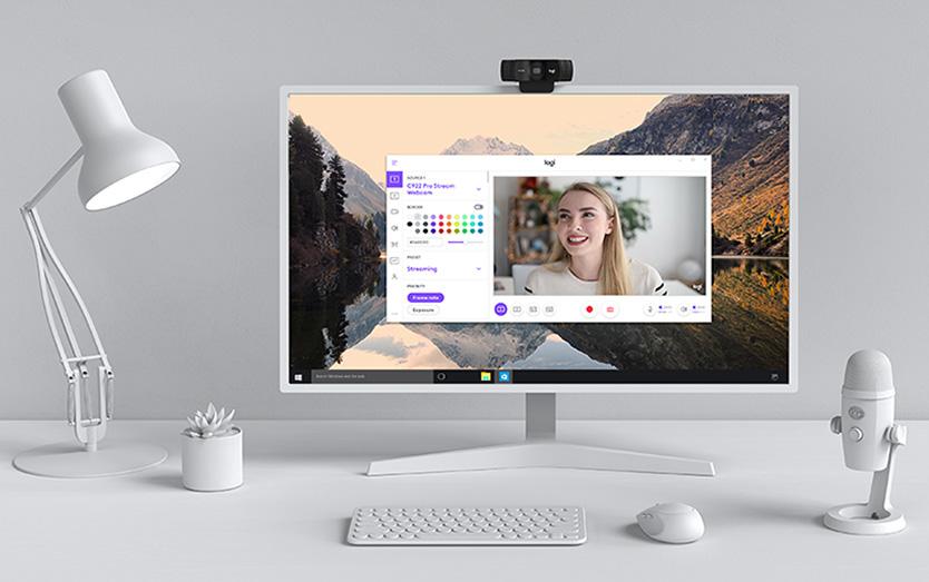 Thỏa sức sáng tạo cùng Webcam Logitech