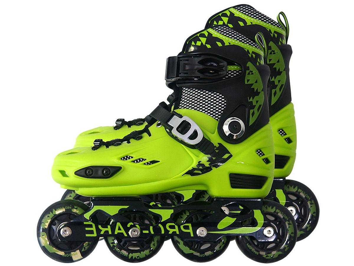 Giày trượt patin PRO-CARE 808 màu xanh lá