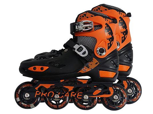 Giày trượt patin PRO-CARE 808 màu cam