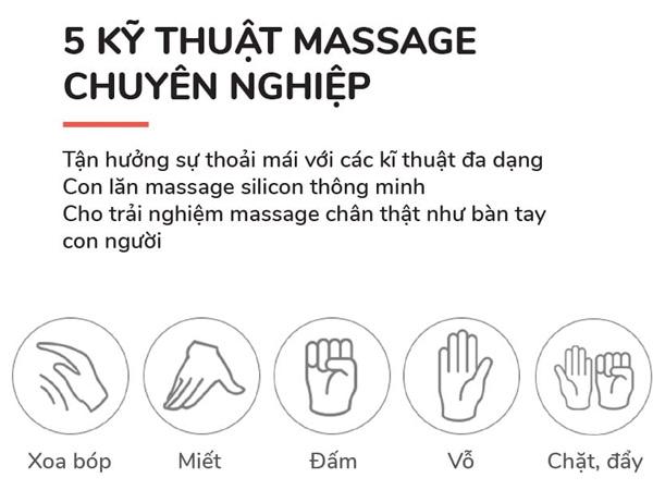 Nâng cao kỹ thuật massage