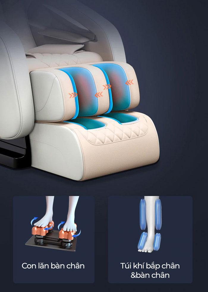 Ghế massage bằng túi khí