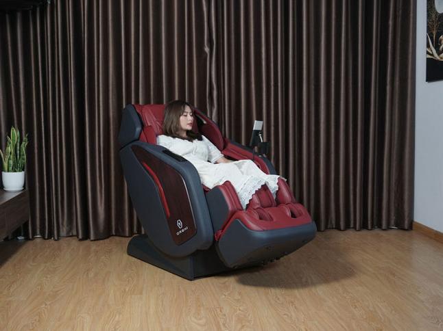 Ghế massage mang lại cảm giác thoải mái