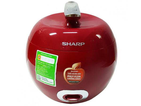 Hình ảnh nồi cơm điện Sharp 0.72 lít KS-A08V